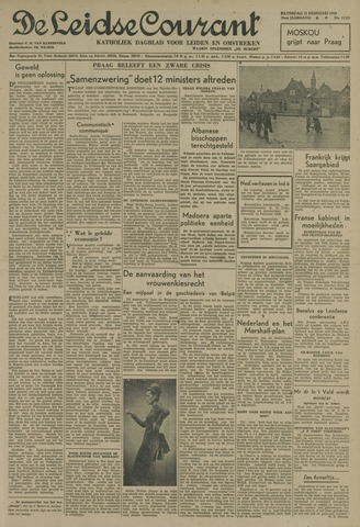 Leidse Courant 1948-02-21