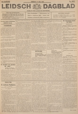 Leidsch Dagblad 1928-07-31