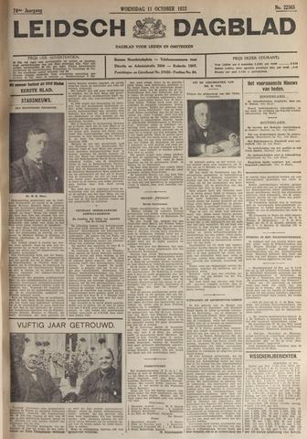 Leidsch Dagblad 1933-10-11