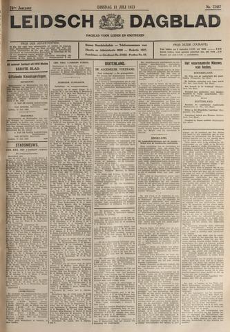 Leidsch Dagblad 1933-07-11