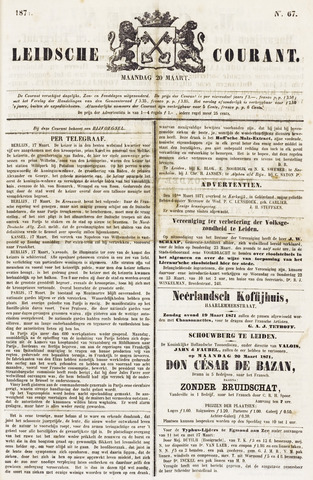 Leydse Courant 1871-03-20