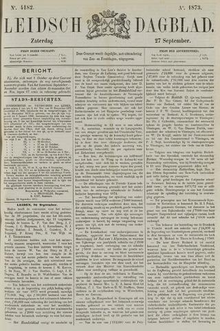Leidsch Dagblad 1873-09-27