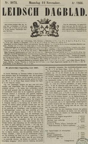 Leidsch Dagblad 1866-11-12