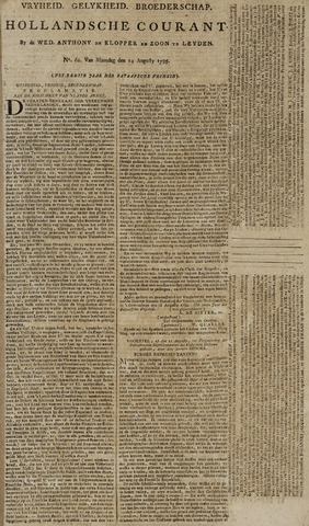 Leydse Courant 1795-08-24