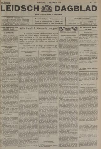 Leidsch Dagblad 1935-12-12