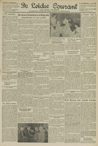Leidse Courant 1947-10-07
