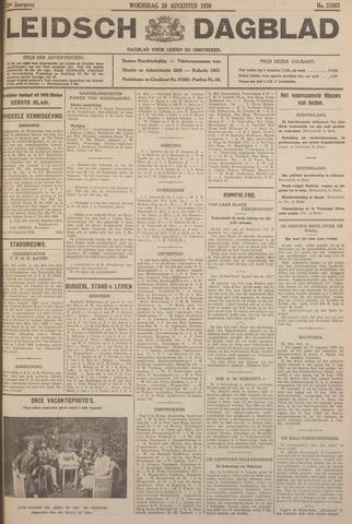 Leidsch Dagblad 1930-08-20