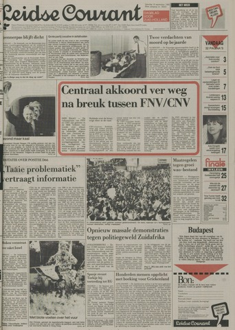 Leidse Courant 1989-09-16