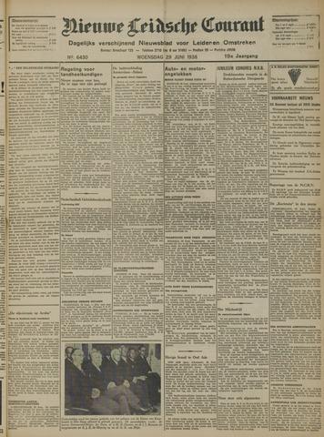 Nieuwe Leidsche Courant 1938-06-29