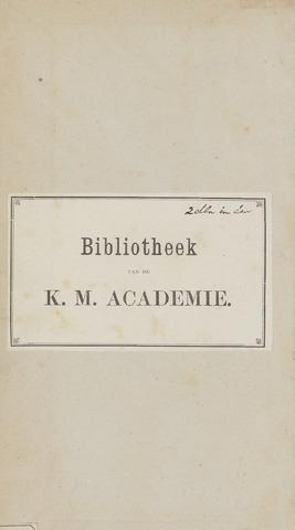 Indisch Militair Tijdschrift 1878-01-01