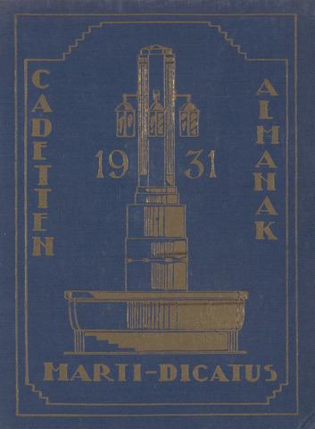 Almanak der Koninklijke Militaire Akademie 1931-01-01