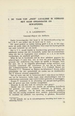 Indisch Militair Tijdschrift 1929-02-01