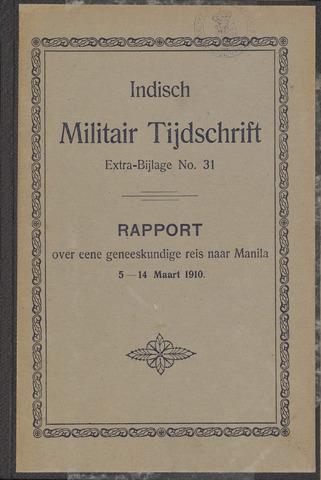 Indische Militair Tijdschrift - Extra Bijlagen 1911