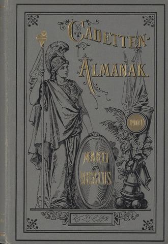 Almanak der Koninklijke Militaire Akademie 1901