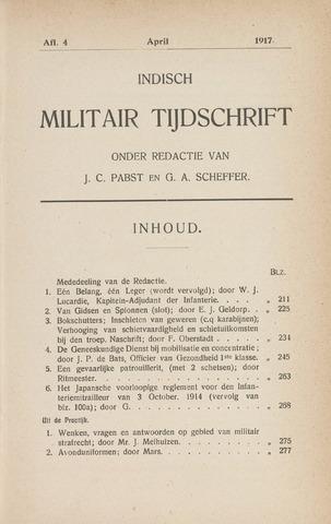 Indisch Militair Tijdschrift 1917-04-01