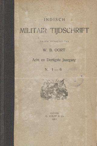Indisch Militair Tijdschrift 1907