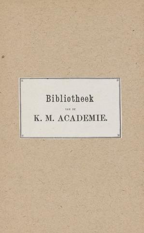 Indisch Militair Tijdschrift 1890-01-01