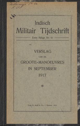 Indische Militair Tijdschrift - Extra Bijlagen 1918-01-01