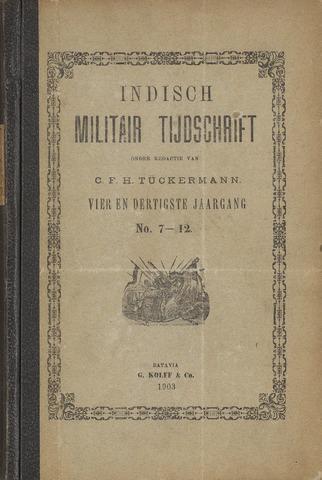 Indisch Militair Tijdschrift 1903-07-01