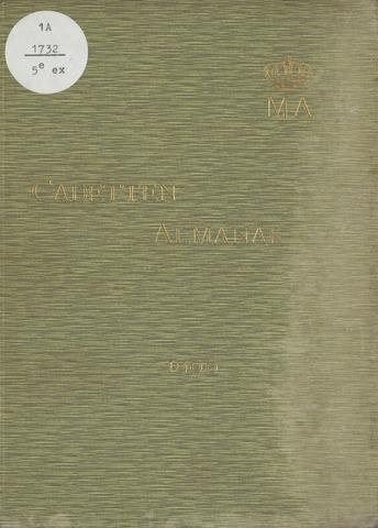 Almanak der Koninklijke Militaire Akademie 1906-01-01