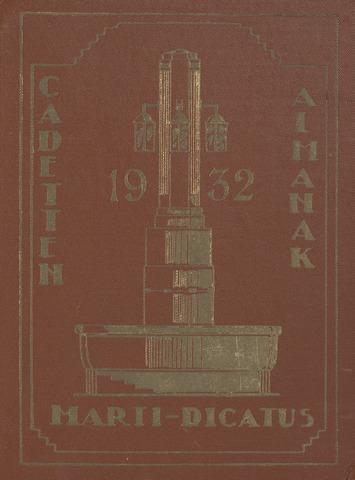 Almanak der Koninklijke Militaire Akademie 1932-01-01
