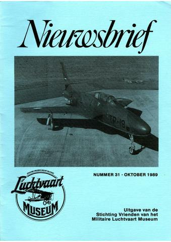 Nieuwsbrief Militaire Luchtvaart Museum 1989-10-01
