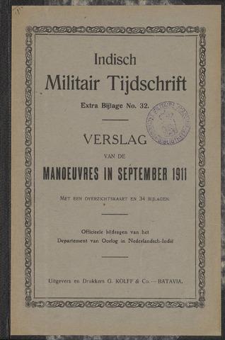 Indische Militair Tijdschrift - Extra Bijlagen 1912