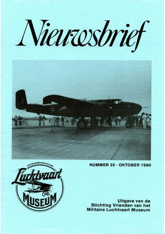 Nieuwsbrief Militaire Luchtvaart Museum 1990-10-01