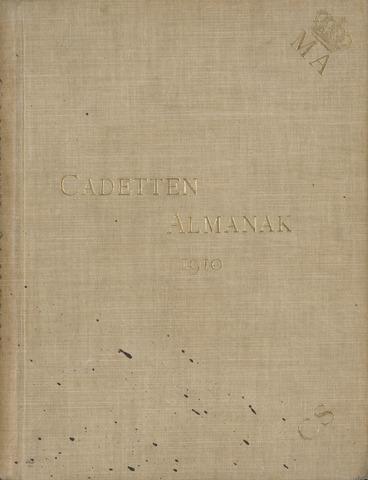 Almanak der Koninklijke Militaire Akademie 1910-01-01