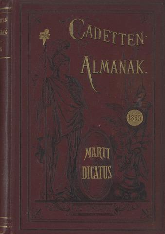 Almanak der Koninklijke Militaire Akademie 1895-01-01