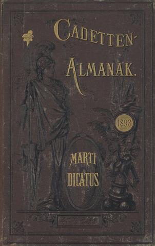 Almanak der Koninklijke Militaire Akademie 1893