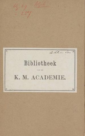 Militair Tijdschrift 1877