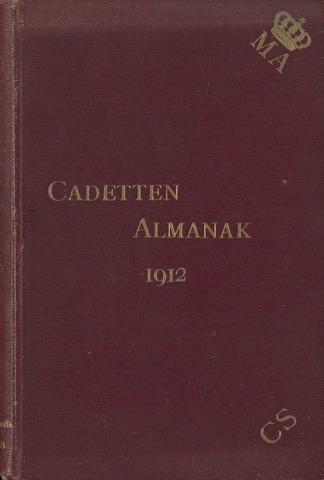 Almanak der Koninklijke Militaire Akademie 1912-01-01