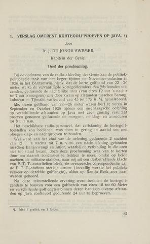 Indisch Militair Tijdschrift 1928-02-01