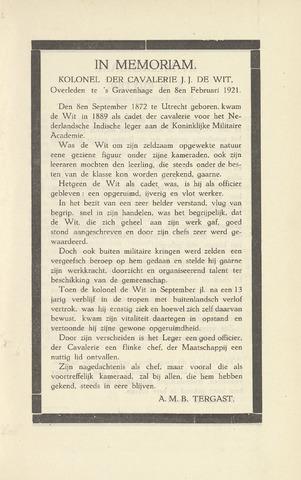 Indisch Militair Tijdschrift 1921-03-01