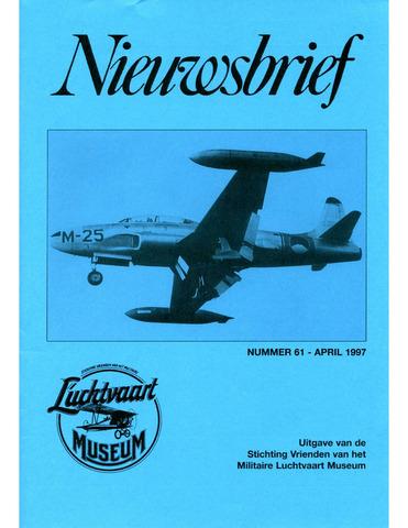 Nieuwsbrief Militaire Luchtvaart Museum 1997-04-01