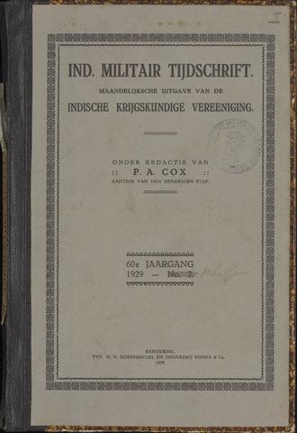 Indisch Militair Tijdschrift 1929-01-01