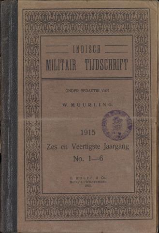Indisch Militair Tijdschrift 1915