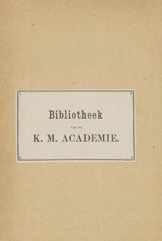 Indisch Militair Tijdschrift 1894-01-01