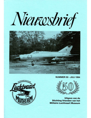 Nieuwsbrief Militaire Luchtvaart Museum 1994-07-01