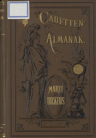 Almanak der Koninklijke Militaire Akademie 1892-01-01