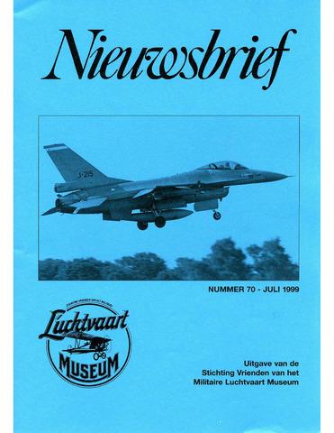 Nieuwsbrief Militaire Luchtvaart Museum 1999-07-01