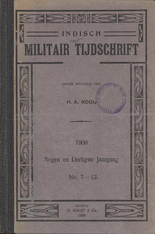 Indisch Militair Tijdschrift 1908-07-01