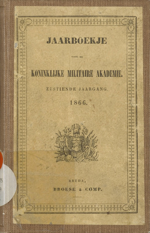 Almanak der Koninklijke Militaire Akademie 1866-01-01
