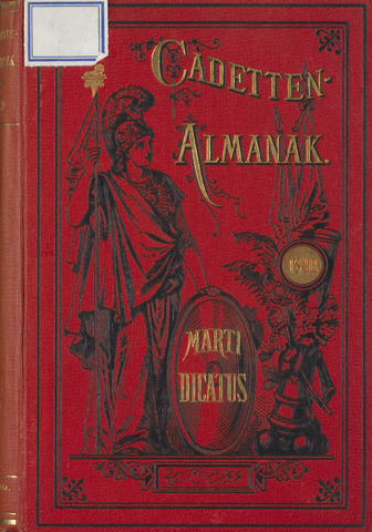 Almanak der Koninklijke Militaire Akademie 1890