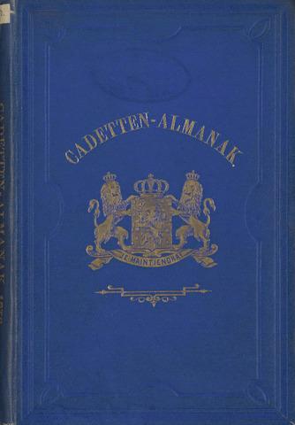 Almanak der Koninklijke Militaire Akademie 1878-01-01