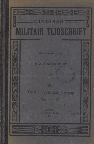 Indisch Militair Tijdschrift 1911