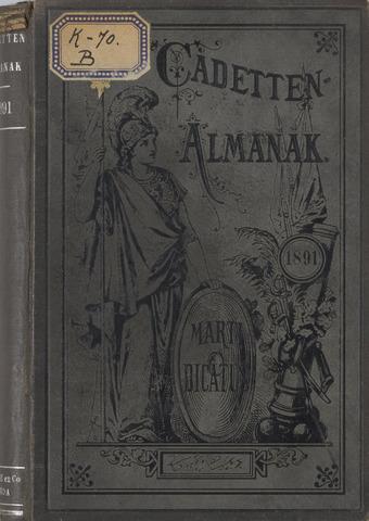 Almanak der Koninklijke Militaire Akademie 1891-01-01