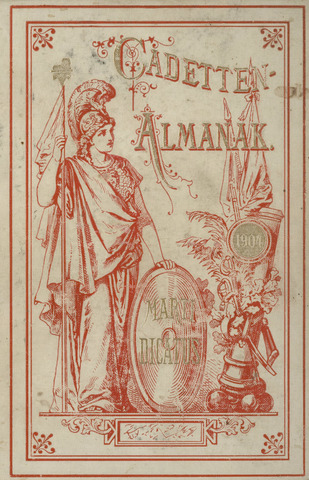 Almanak der Koninklijke Militaire Akademie 1904-01-01