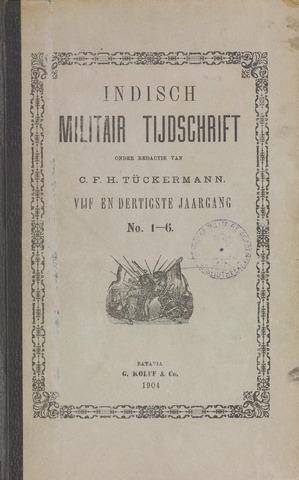 Indisch Militair Tijdschrift 1904